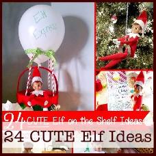 24-cute-elf-on-the-shelf-ideas