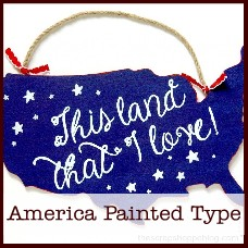 America-painted-type