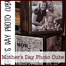 Mother's Day Photo Cube