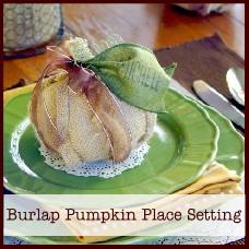 burlap-pumpkin-place-setting