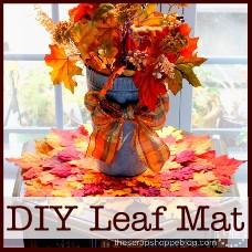 diy-leaf-mat