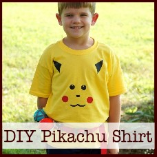 DIY Pikachu Shirt