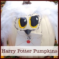Harry Potter pumpkins