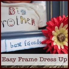 Easy Frame Dress Up