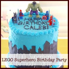 Lego Superhero Birthday Party