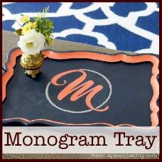 monogram-tray