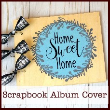 diy wood scrapbook album