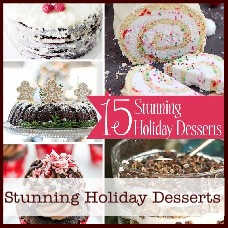 stunning holiday desserts