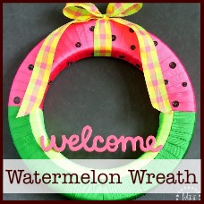 watermelon-wreath