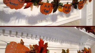 Halloween/Fall Reversible Garland