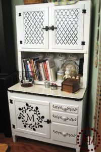 Hoosier Hutch Makeover