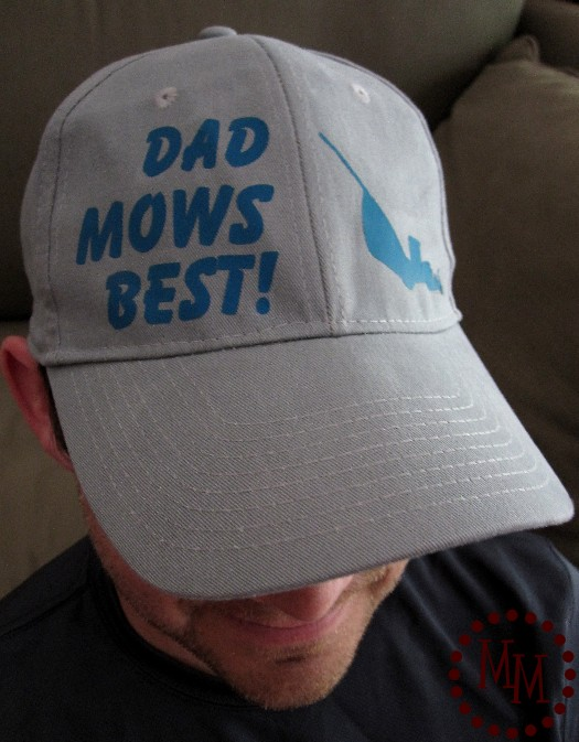 Dad Mows Best! - A punny play on words and a fun Father's Day Gift idea!