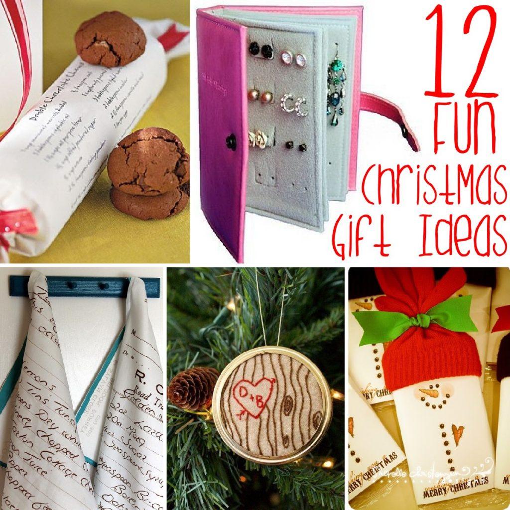 12 Fun Christmas Gift Ideas - The Scrap Shoppe