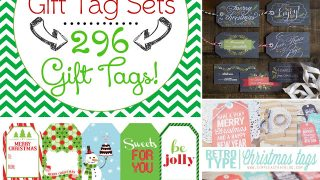 296 FREE Printable Holiday Gift Tags