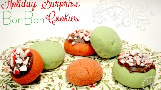 Holiday Surprise BonBon Cookies