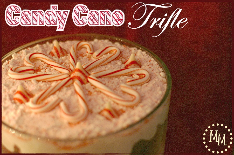 Candy Cane Trifle {Homemade Christmas Recipes}