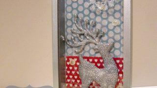 Winter Deer Diorama