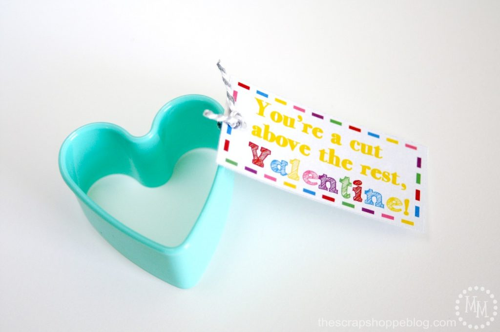 Cookie Cutter Valentines - The Scrap Shoppe