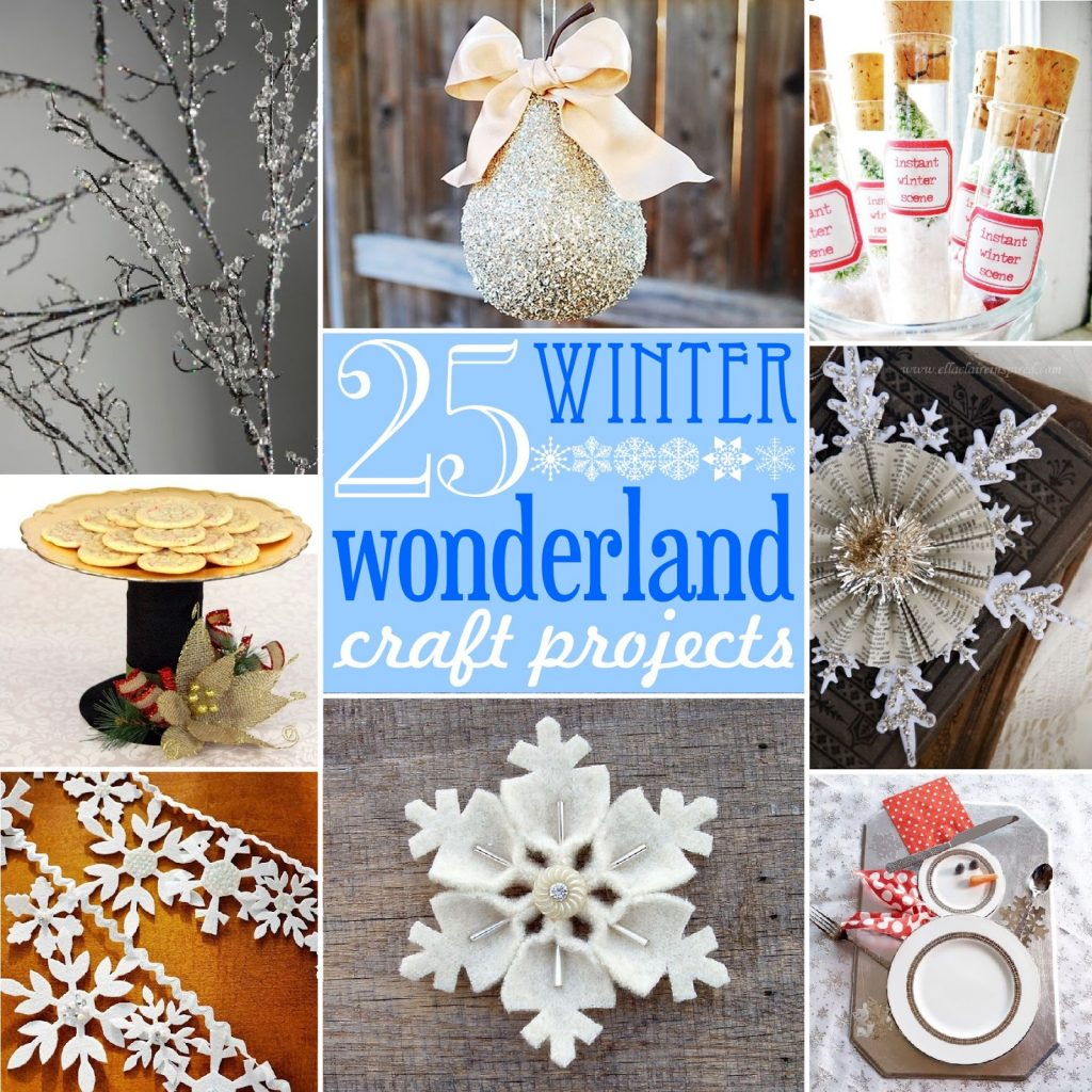 christmas decorations craft ideas 25 winter craft projects the scrap shoppe 3612