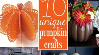10 Unique Pumpkin Crafts