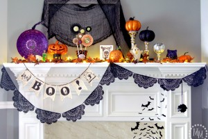 Halloween-mantle-ideas