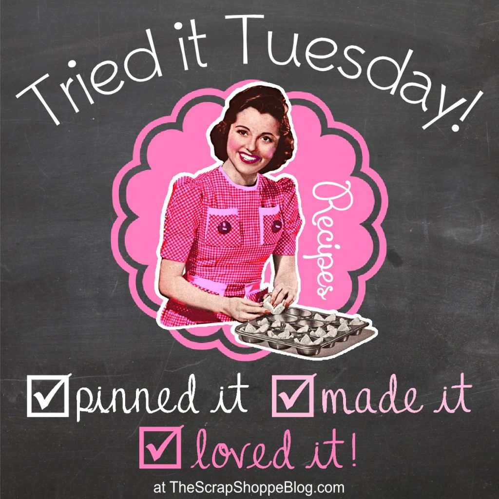 Tried it Tuesday - pinned it, made it, loved it!