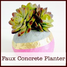 faux-concrete-planter