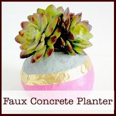 faux-concrete-planter