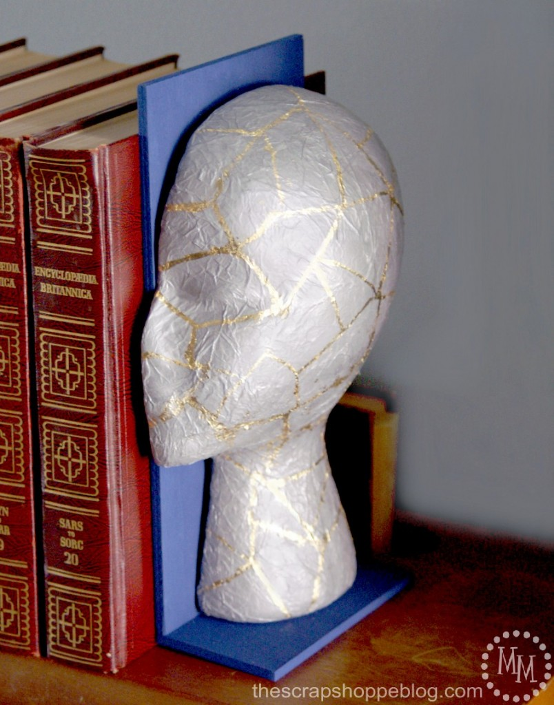 geometric-guilded-head-bookends