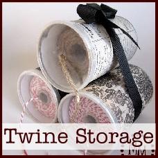 twine storage