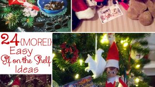 24 {MORE!} Easy Elf on the Shelf Ideas