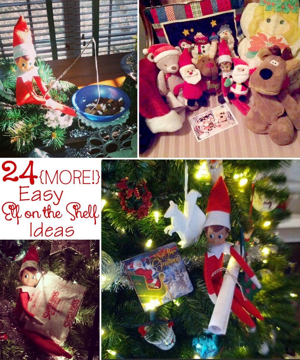 24 More Easy Elf On The Shelf Ideas The Scrap Shoppe