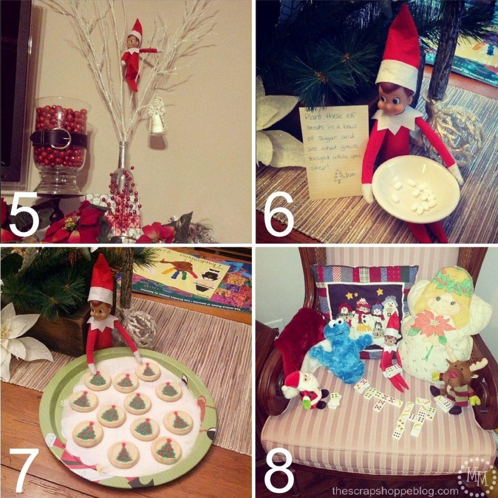 24 {MORE!} Easy Elf on the Shelf Ideas - The Scrap Shoppe
