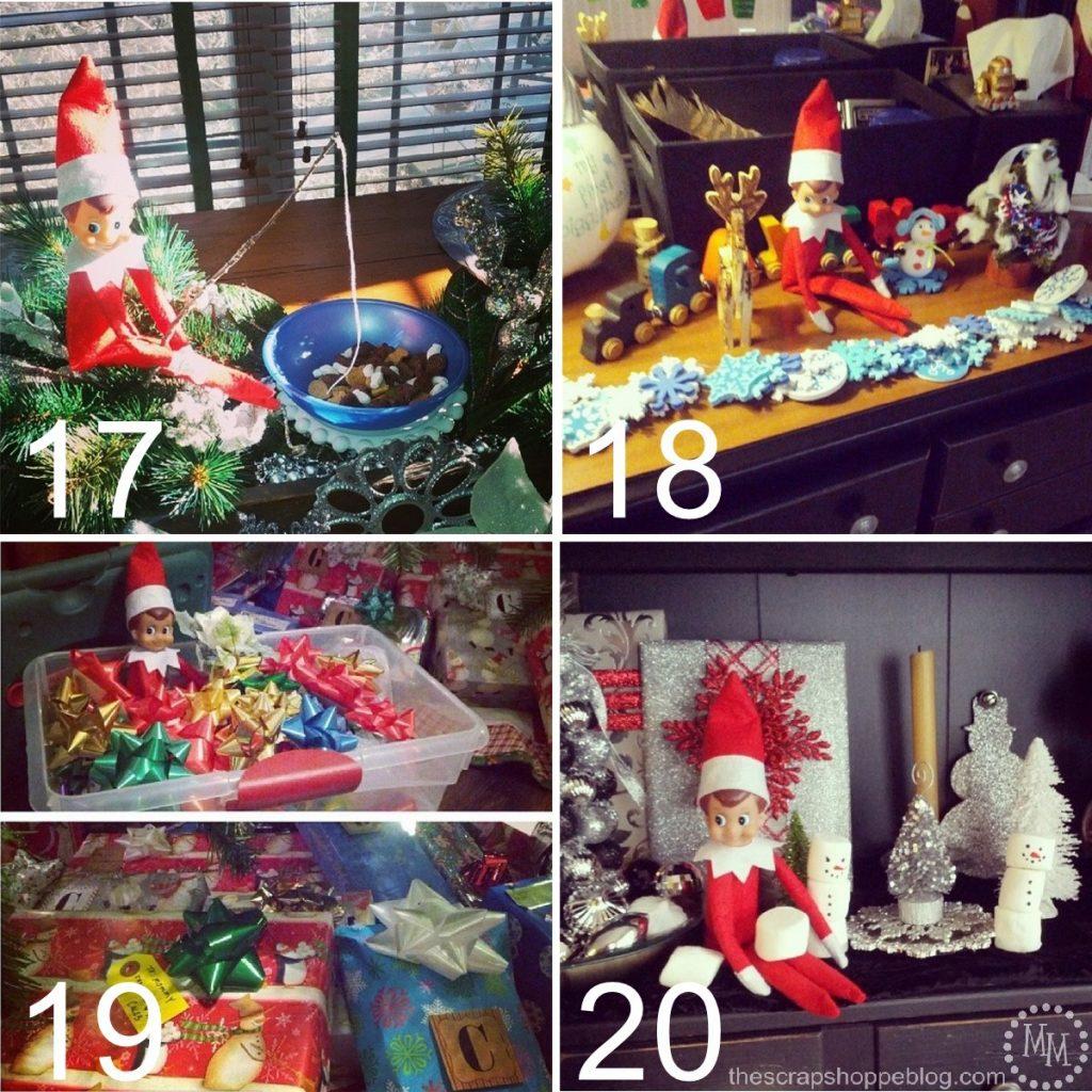 24 MORE Easy Elf On The Shelf Ideas Scrap Shoppe