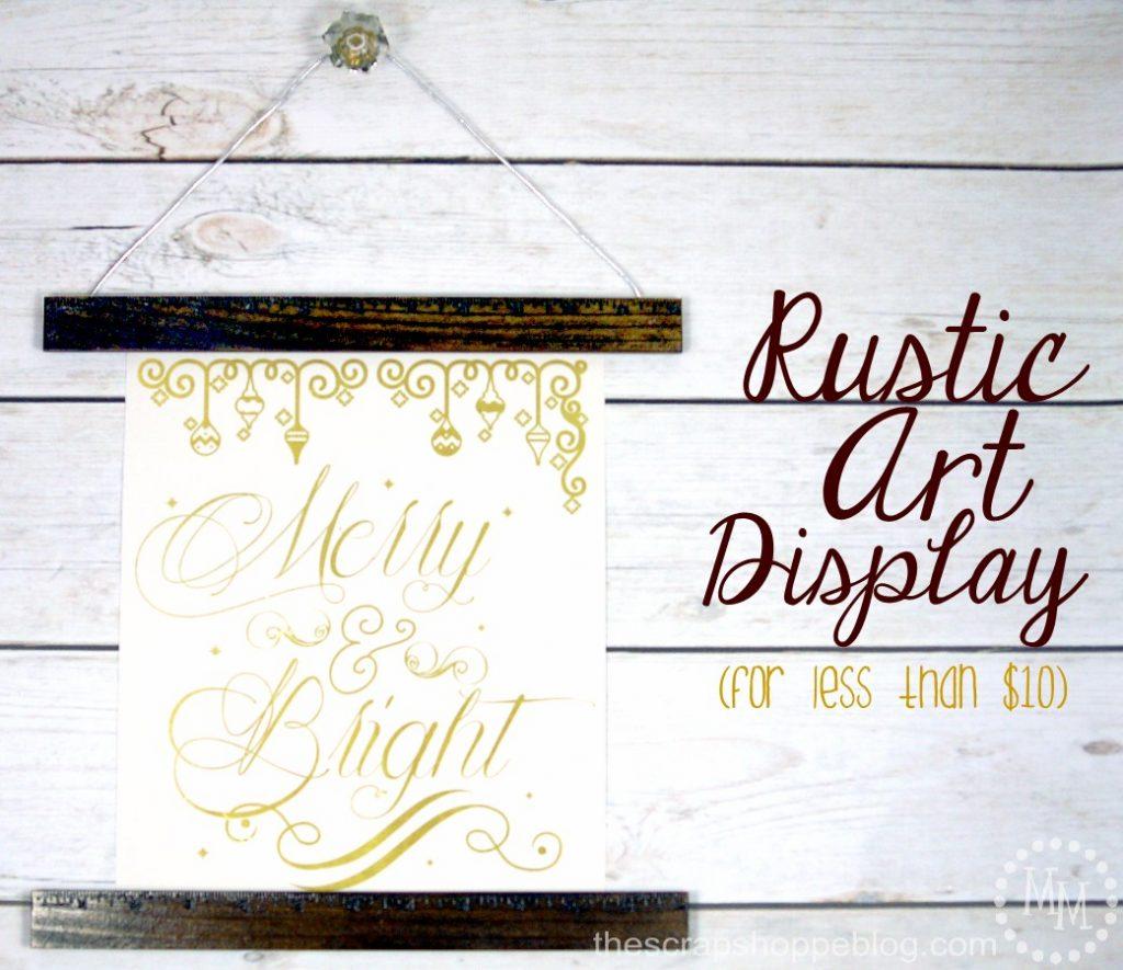 Rustic-Art-Display