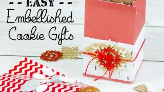 Easy Embellished Cookie Gifts