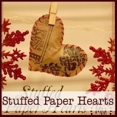 bb-stuffed paper hearts