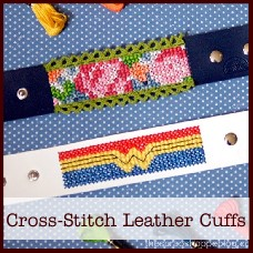 cross-stitch-leather-cuffs