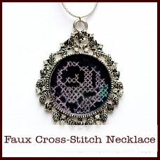 faux-cross-stitch-necklace