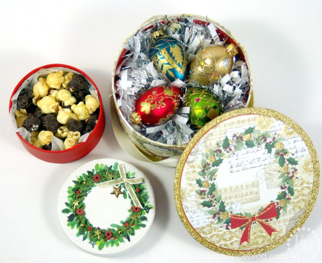 Holiday Hostess Gift Baskets - lots of fun ideas of what to give to holiday party hostesses!