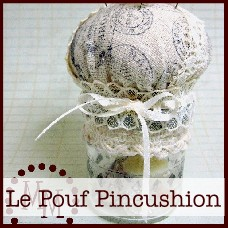 oc-le pouf pincushion