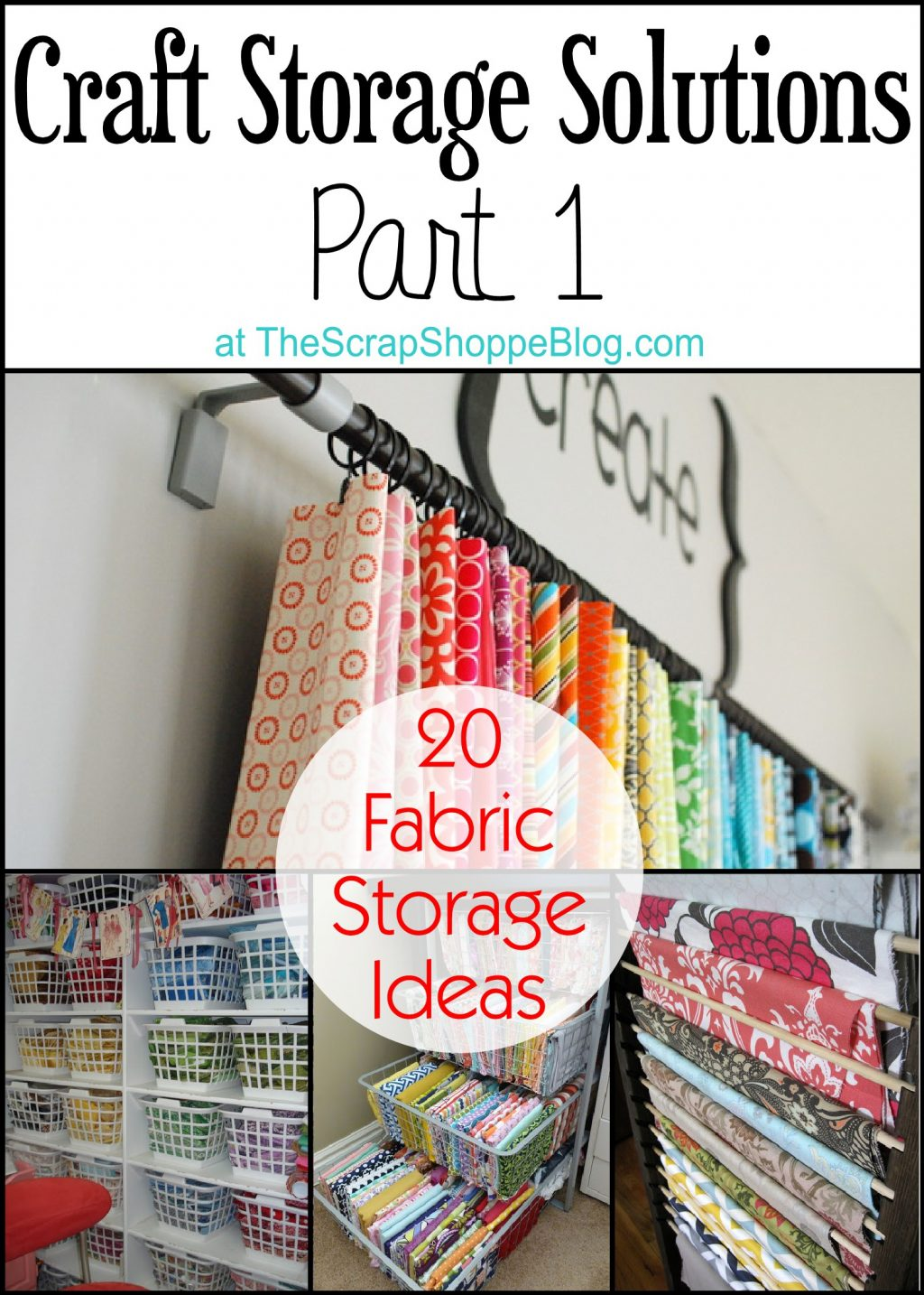 Merveilleux 20 Fabric Storage Solutions