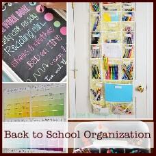 back to school organization