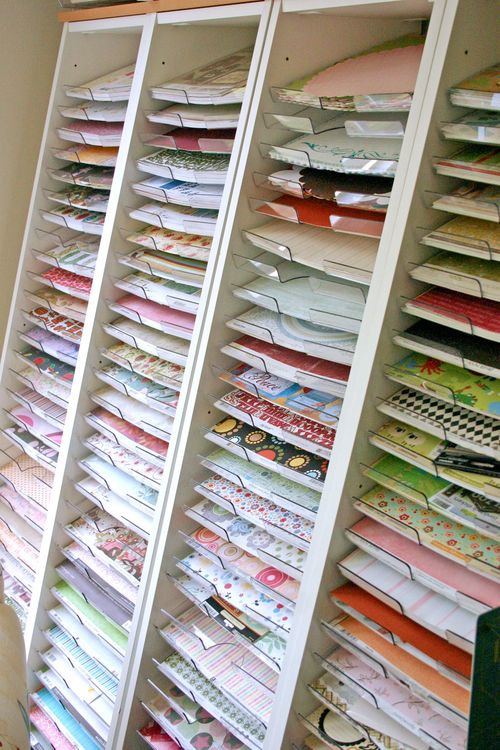 20 Scrapbook Paper Storage Ideas The Scrap Shoppe