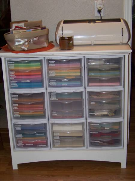 20 scrapbook paper storage ideas the scrap shoppe for Craft paper storage ideas