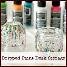 dripped-paint-desk-storage