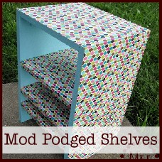 hd-mod podged shelves