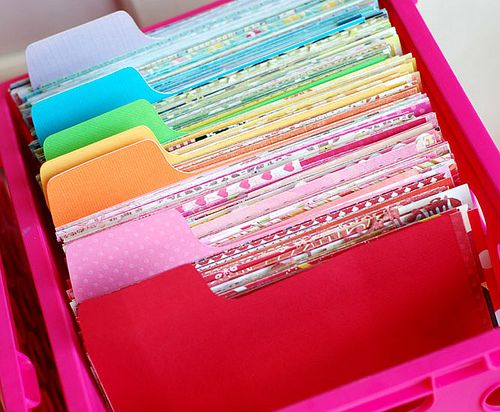 Awesome Scrap Paper Files