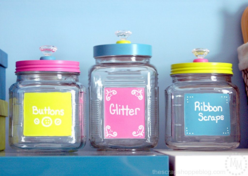 colorful-storage-jars