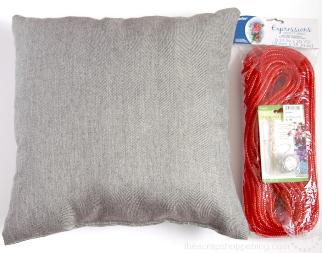 DIY Marquee Pillow
